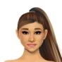 Cloud - Ariana Grande dressup
