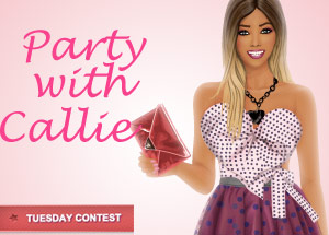 Tuesday contest: Party with Callie!