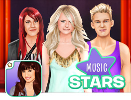 Stardoll Dress Up Music Stars