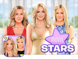 Stardoll Dress Up Movie Stars