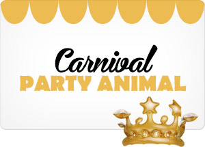 Seja o PARTY ANIMAL DO CARNAVAL NO STARDOLL 2018!