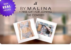 By Malina real prize contest + free item!