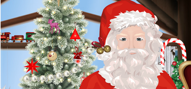 12 Nights of Christmas - Win a Visit from Santa & his Stardoll Sprites!
