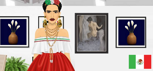 Celebrity Friday! -> Frida Kahlo