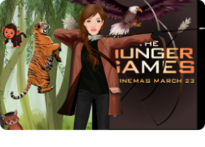 Celebrity Friday! -> Hunger Games - Katniss Everdeen (Jennifer Lawrence)