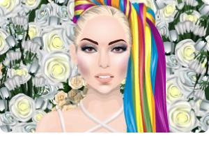 ¡Viernes de famosos! -> Lady Gaga