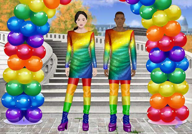 Wrapped in Rainbows Quiz