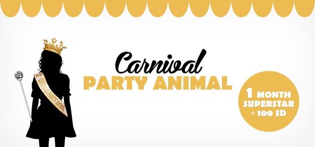 Stardoll Carnival Party Animal 2021 Winner + Featured Dolls