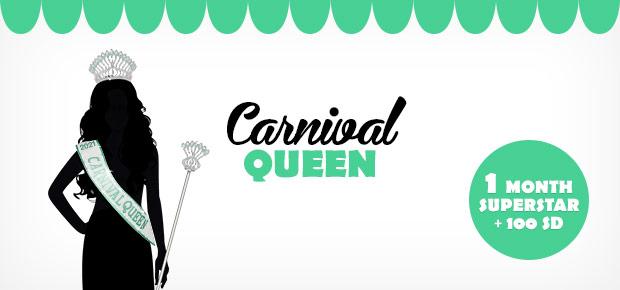 Stardoll Carnival Queen 2021 Winner + Featured Dolls