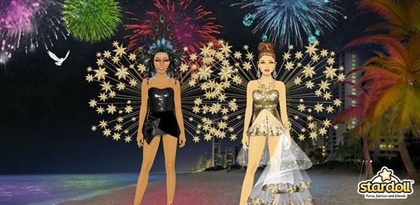 Celebra el Carnaval en Stardoll