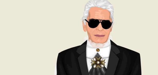 Style a lá Karl Lagerfeld