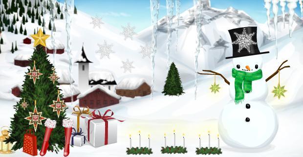 Grand concours de Noël!