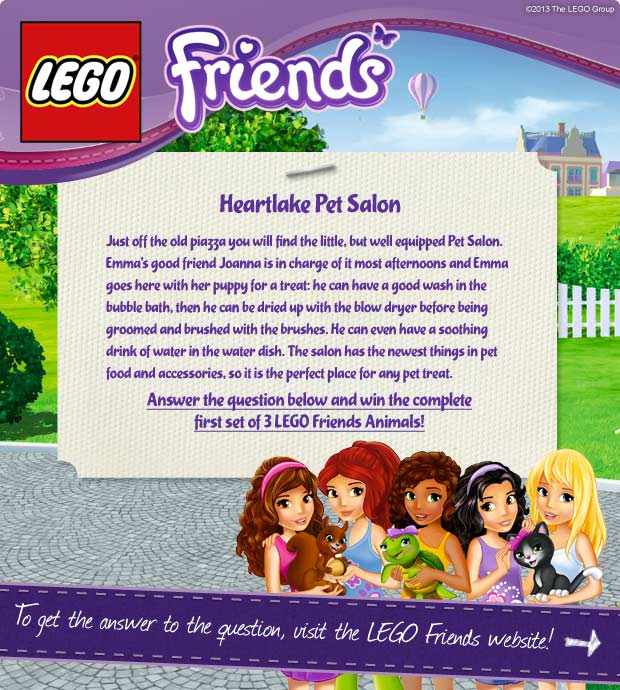 Lego Friends UK Contest - Stardoll | English