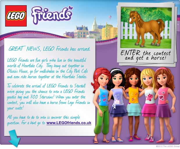 Lego Friends Contest - Stardoll | English