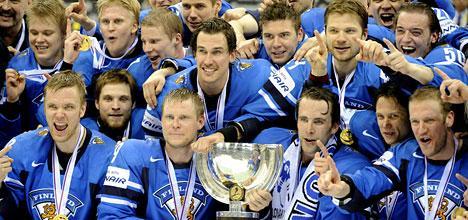 Suomi on jääkiekon maailmanmestari!