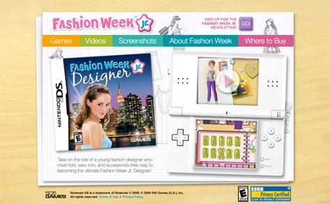 Fashion Week Jr Designer Nds